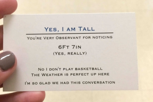 yes-i-am-tall-card